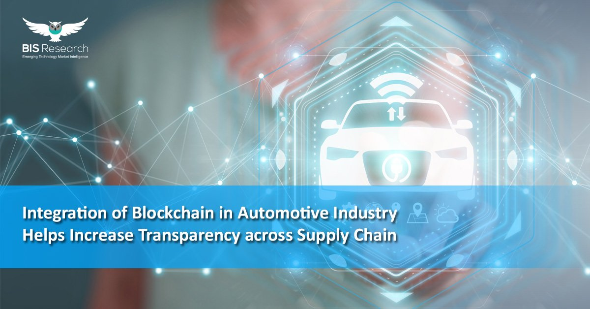 Blockchain in Automotive Industry by BIS Research