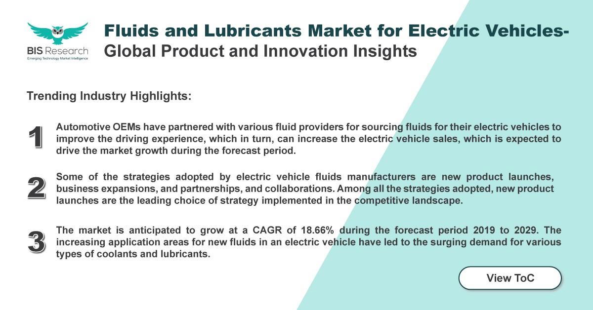 fluids and lubricants market for EV